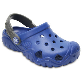 Crocs Swiftwater Clogs Kids Blue Jean/Slate Grey